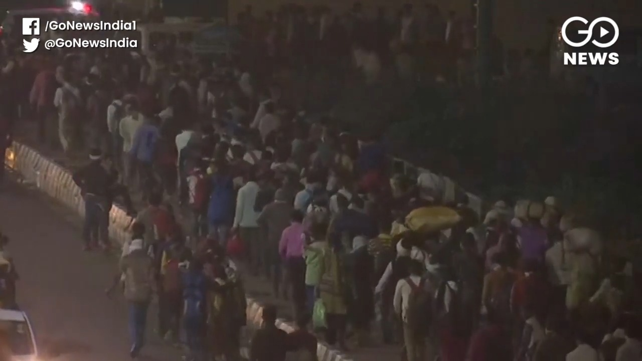 Surat: Daily Wagers Go On Rampage Fearing Lockdown