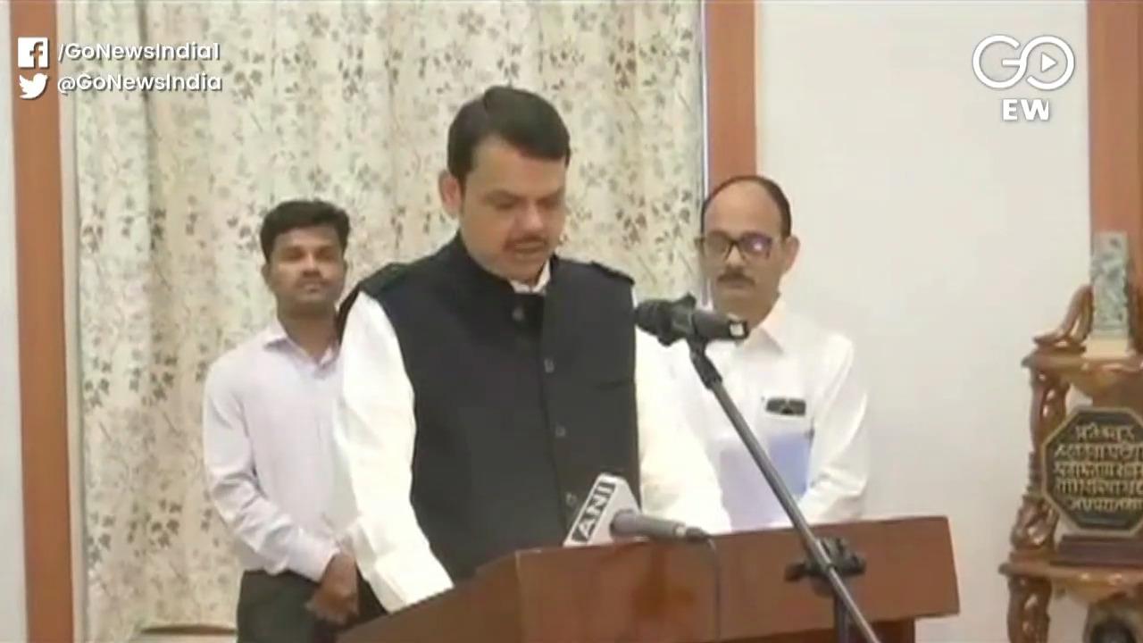 Political Coup: Fadnavis Sworn In Maharashtra CM,