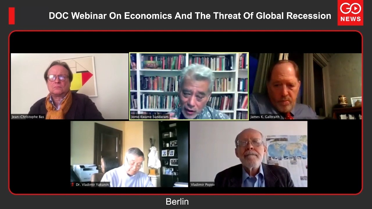 DOC Webinar On Economics And The Threat Of Global