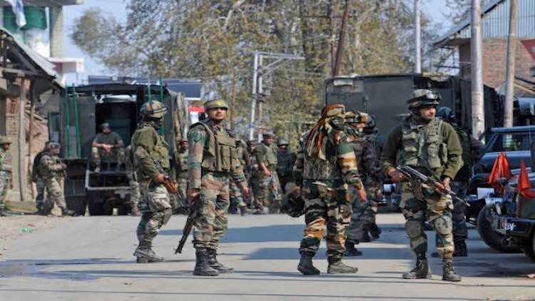 J&K: 3 Terrorists Gunned Down In Encounter Near Na