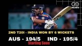 India Beat Australia In 2nd T20I - Statistical Rev