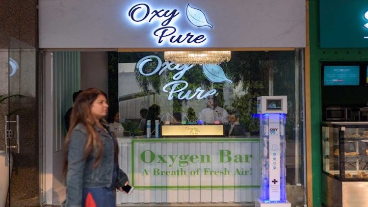 Get To The Oxygen Bar For Some Fresh Air