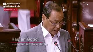 Ex-CJI Ranjan Gogoi Takes Oath As RS Member, Oppos