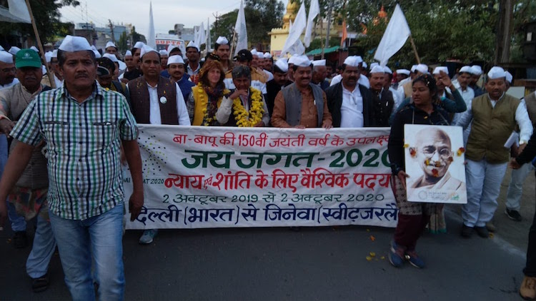 COVID-19 Halts Year-Long 'Jai Jagat' Peace March