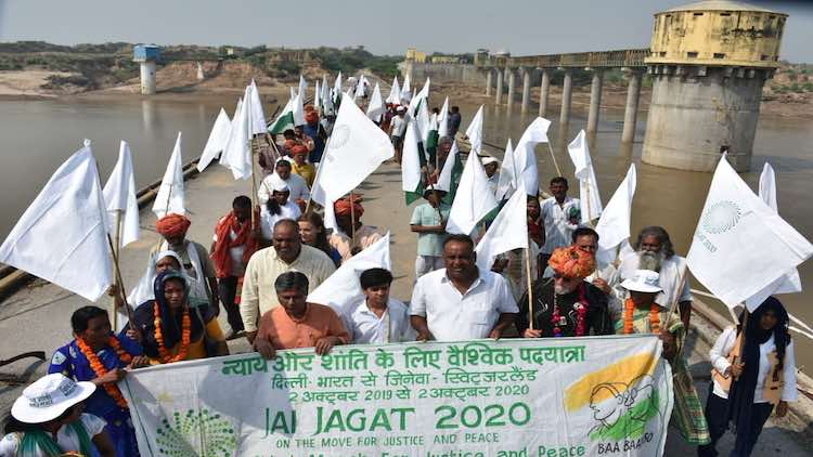 Jai Jagat Yatra currently suspended due to Corona