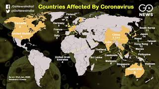 Coronavirus: Over 100 Cases Surface In 25 Countrie