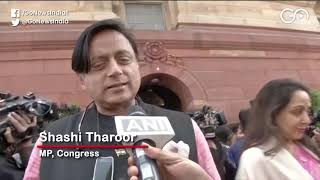 Shashi Tharoor: Govt Created A Climate Of Hatred
