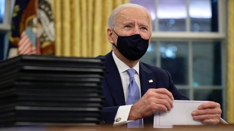 US President Joe Biden Faces Scrutiny For Spate Of