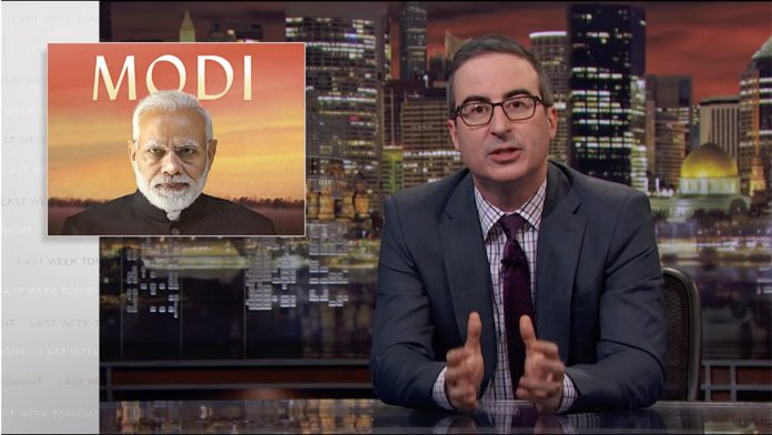 Hotstar Censors John Oliver's 'Last Week Tonight'