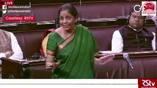 FM Sitharaman: Dip In GDP But No Recession