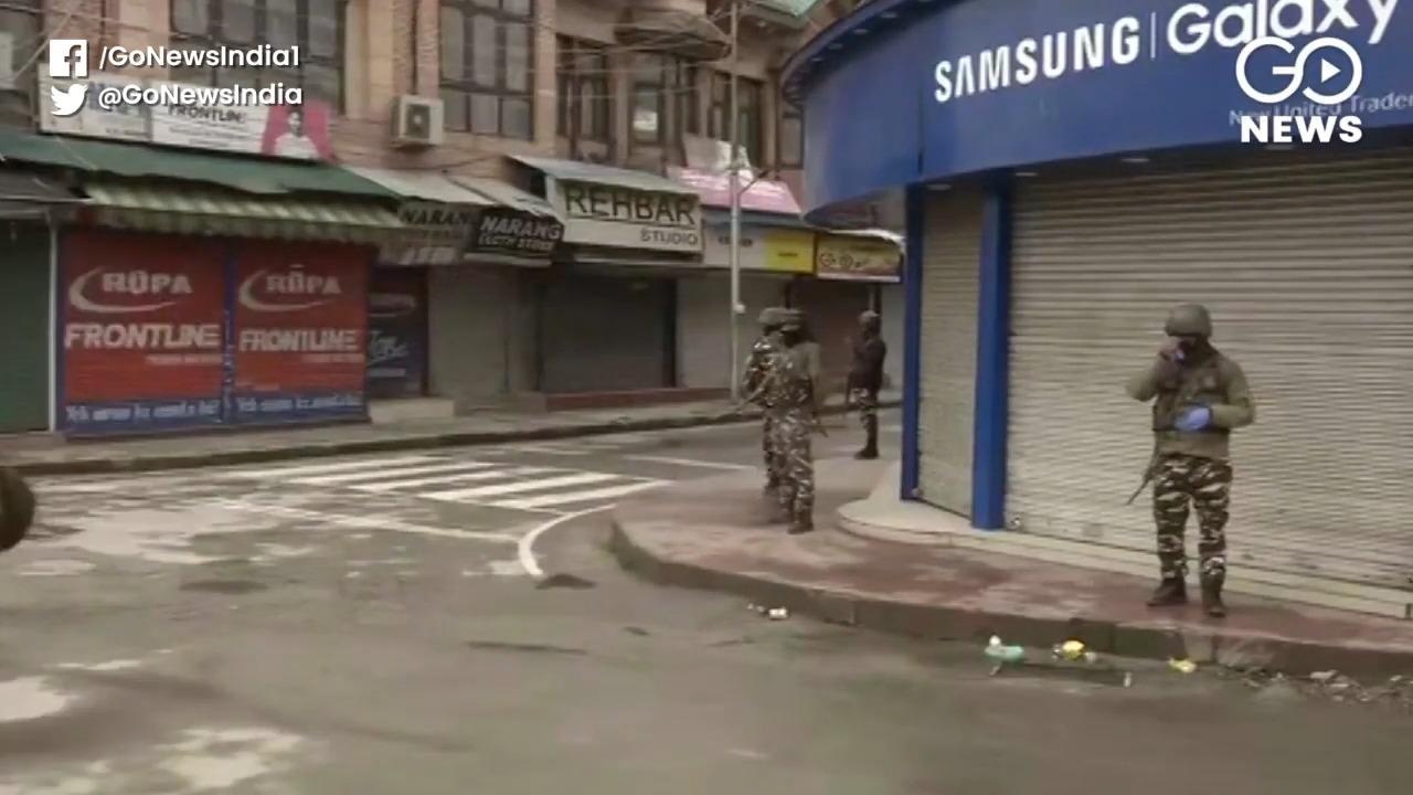 Visuals From Kashmir Amid Lockdown