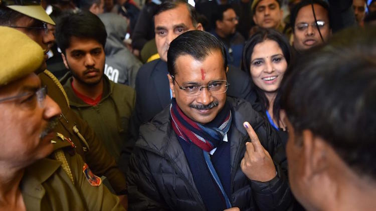 Delhi Assembly Results: AAP Takes A Big Lead