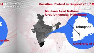 Jamia Protests Spread To Varsities Countrywide