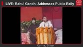LIVE: Rahul Gandhi Addresses Public Rally