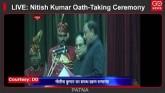 LIVE: Nitish Kumar Oath-Taking Ceremony in Patna,
