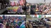 'Rail Roko': Trains Stopped As Protesting Farmers