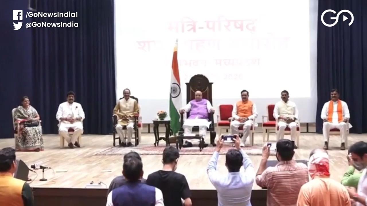 Madhya Pradesh CM Shivraj Singh Expands Cabinets W