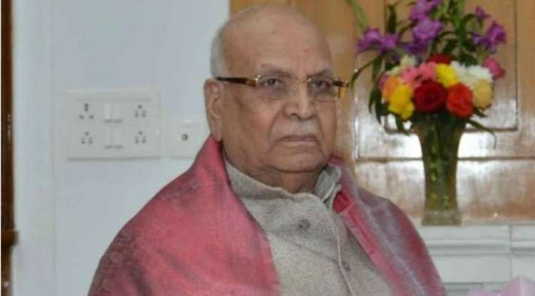 BJP leader Lalji Tandon, who was the Governor of M