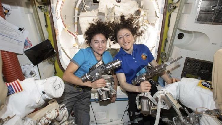 NASA All-Women Astronaut Team Creates History