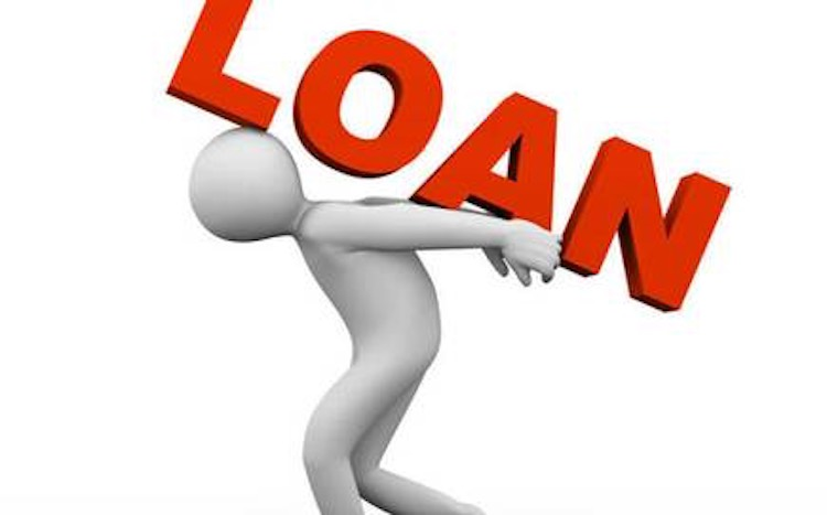 The recession is such that people are taking loans