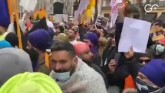 Protest Outside Indian Embassy In London Against N