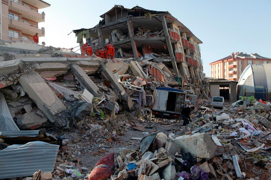 Deadly 6.8 Magnitude Earthquake Hits Eastern Turke