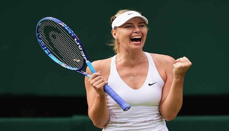 Five-time Grand Slam champion Maria Sharapova reti