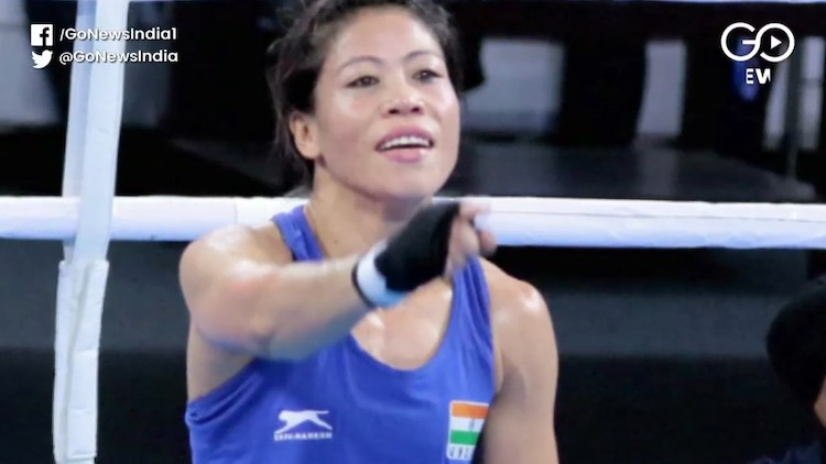 Magnificent Mary Enters Women's World Boxing Champ