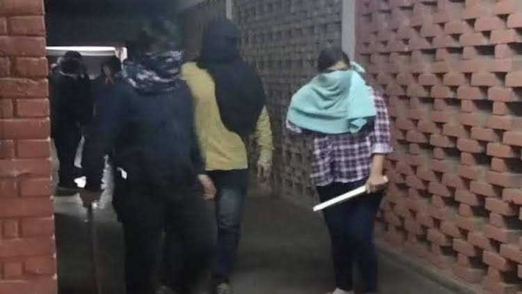 Masked Goons Unleash Terror In JNU; Students, Facu