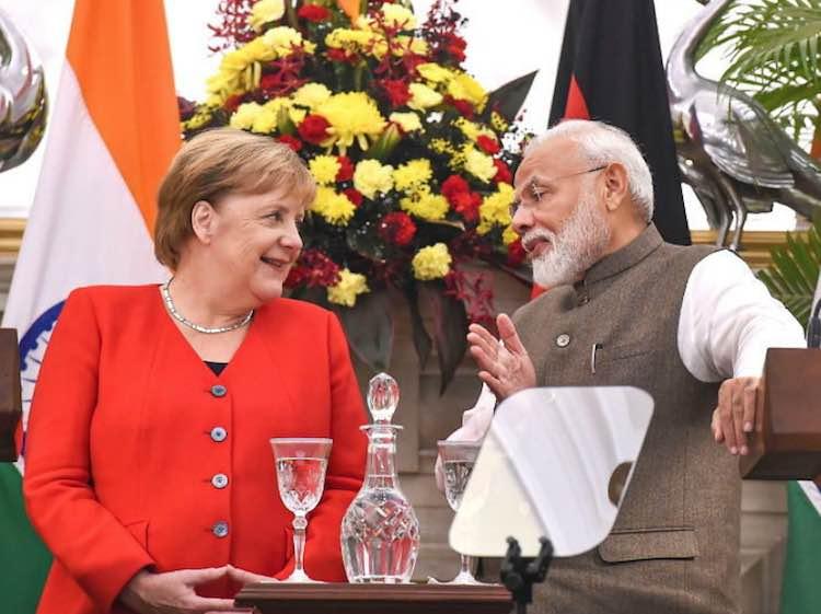 Angela Merkel Speaks Out On Kashmir