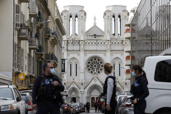 France On Edge After Terror Attack In Nice Church