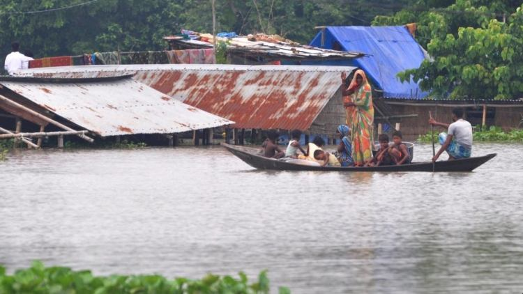 Floods And Landslides In Assam Kill 50 In Last One