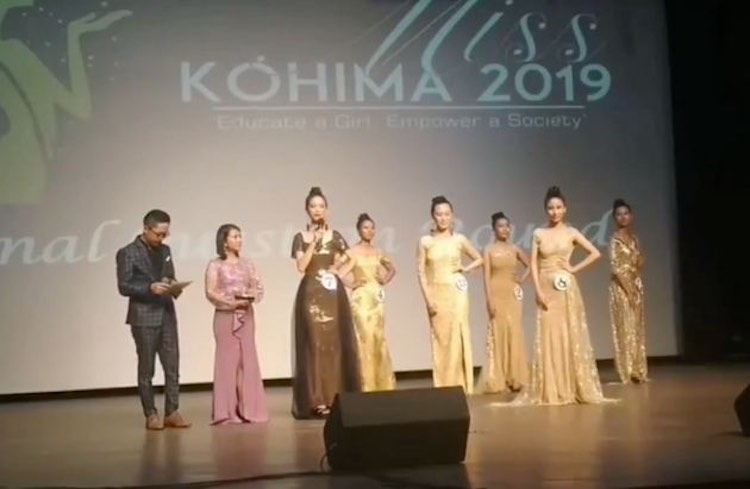 The runner-up of Miss Kohima wants to give this ad