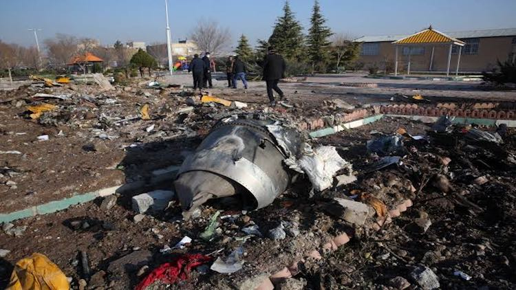 Iran Admits Shooting Down Ukrainian Jet 'Unintenti