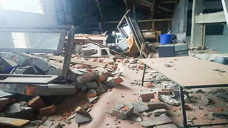 Panic Mounts As Earthquakes Continue To Jolt North