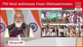 PM Modi Addresses Kisan Mahasammelan