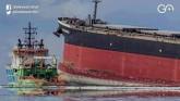 Mauritius Scrambles To Contain Massive Oil Spill I