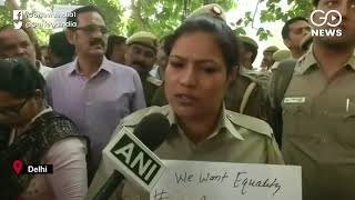 Delhi Police Protest Against Attacks By Lawyers