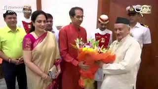 JUST IN: Uddhav Thackeray Calls On Governor