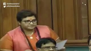 Pragya Thakur Apologises For Godse Remark In Parli