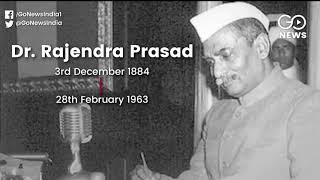 Remembering India's First President: Rajendra
