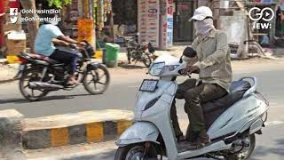 Gujarat: Wearing Helmets While Riding Two-wheelers