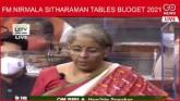 Live: FM Nirmala Sitharaman Tables Budget 2021