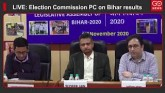 LIVE: Election Commission PC on Bihar Results