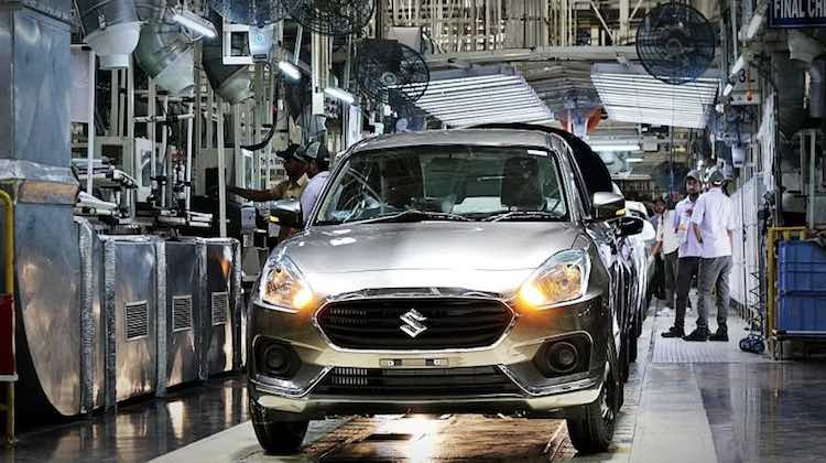 Maruti shows Uptick in Production