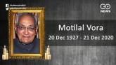Veteran Congress Leader Motilal Vora Passes Away A
