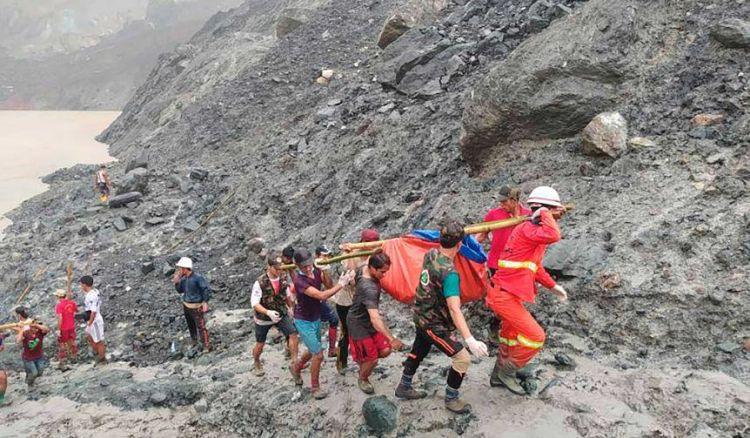 Myanmar: Landslide At Jade Mine Kills 162 Workers,