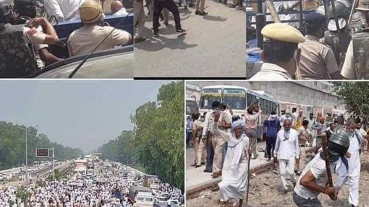 'Kisan March' Not Allowed To Enter Delhi, 12 Farme