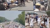 Farmers' March Not Allowed To Enter Delhi, 12 Farm