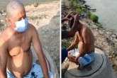 Nepal Citizen's Head Shaved in Varanasi, Forced To
